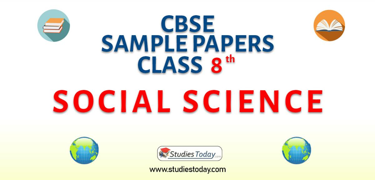 CBSE Sample Paper for Class 8 Social Science
