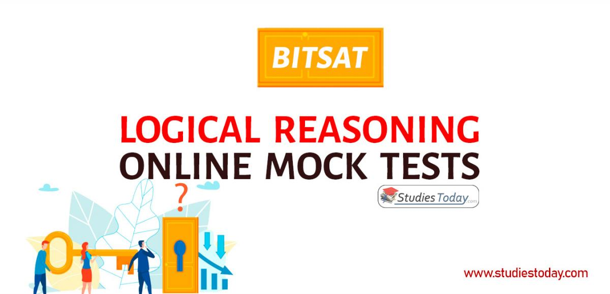 BITSAT Logical Reasoning Online Mock tests