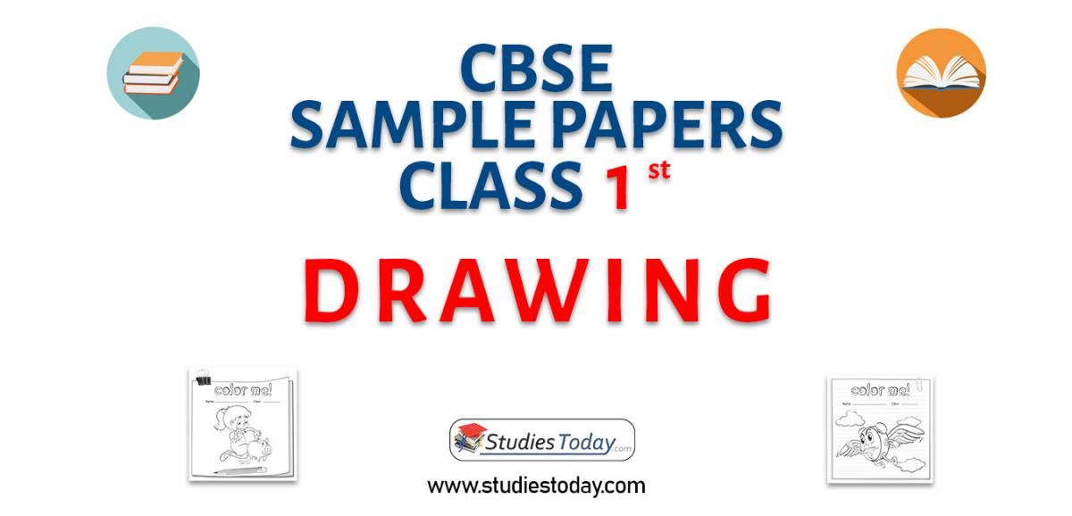 CBSE Sample Paper for Class 1 Drawing