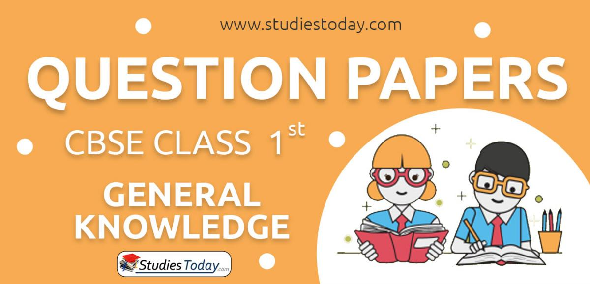CBSE Class 1 GK Question Papers