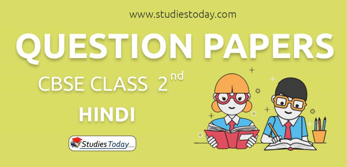CBSE Class 2 Hindi Question Papers