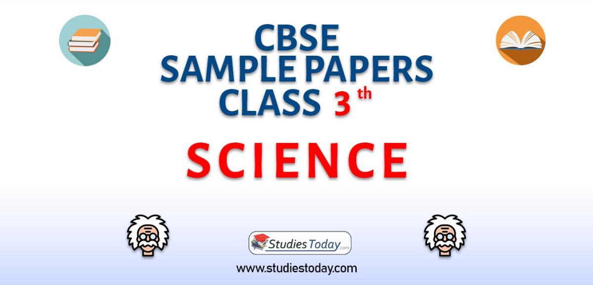 CBSE Sample Paper for Class 3 Science