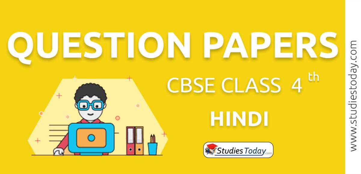 CBSE Class 4 Hindi Question Papers