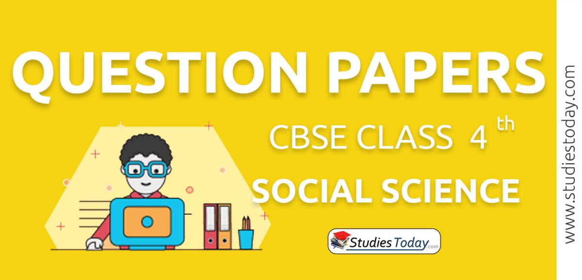 CBSE Class 4 Social Science Question Papers