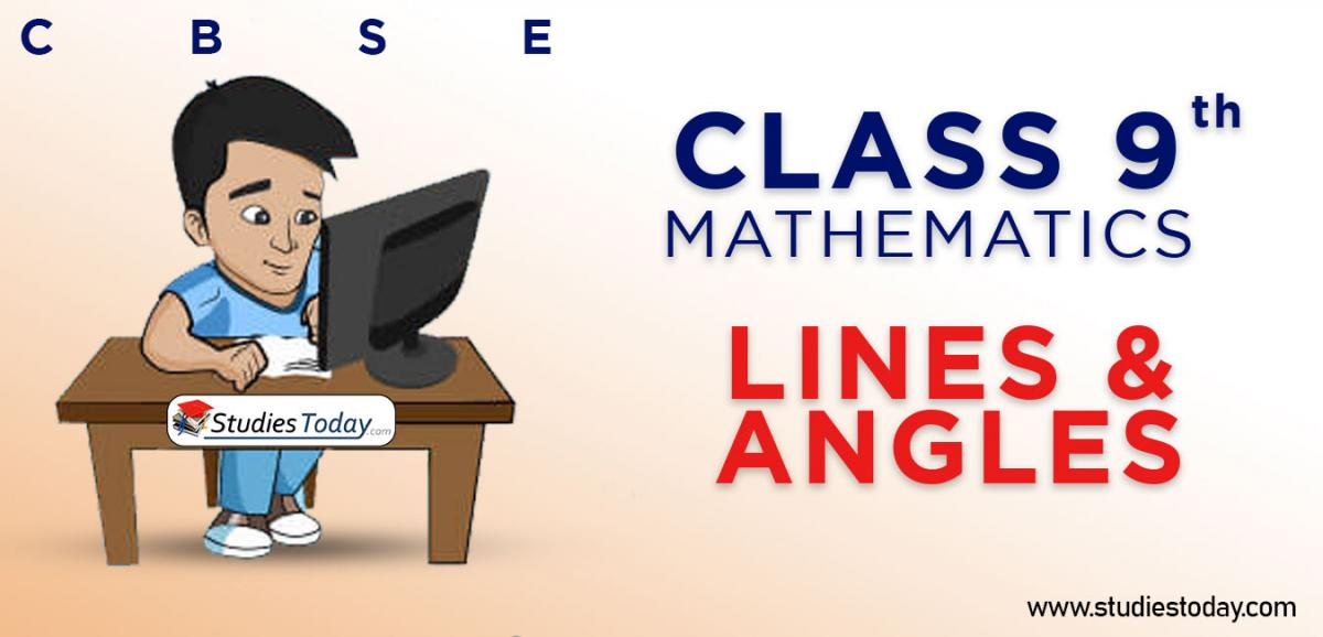 CBSE Class 9 Lines and Angles Online Mock Test