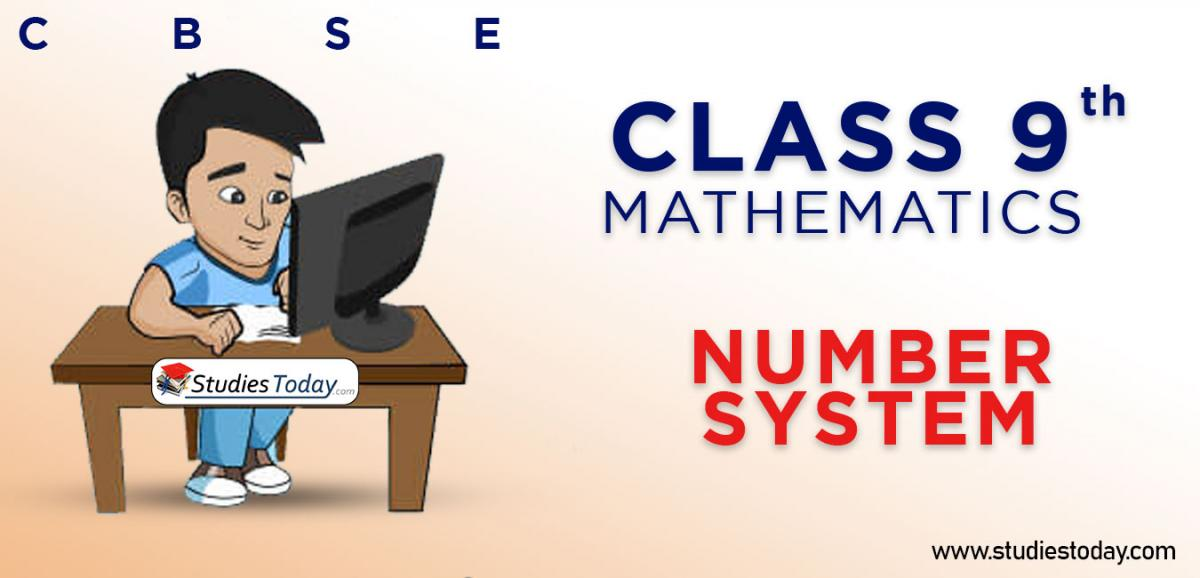 CBSE Class 9 Number System Online Mock Test