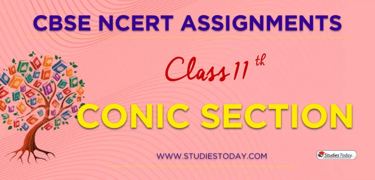 CBSE NCERT Assignments for Class 11 Conic Section