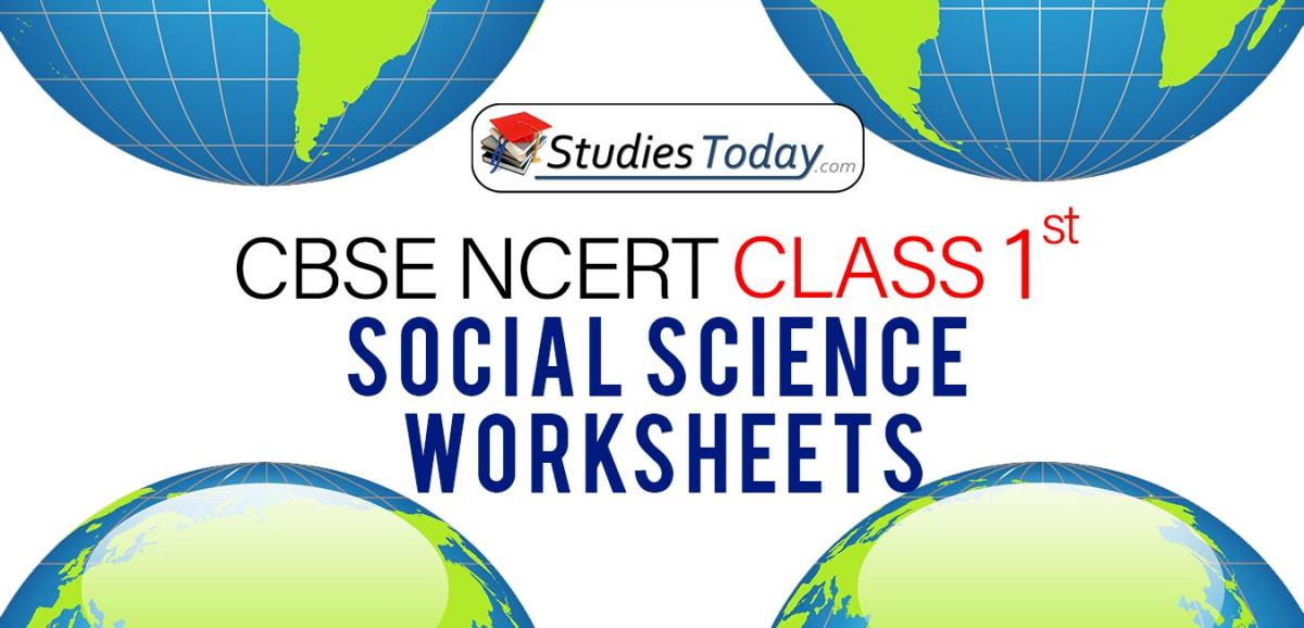 CBSE NCERT Class 1 Social Science Worksheets