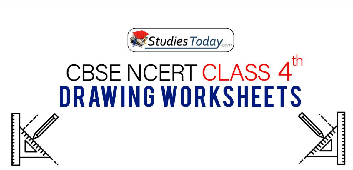 CBSE NCERT Class 4 Drawing Worksheets