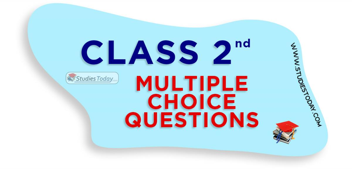 Class 2 Multiple Choice Questions (MCQs)