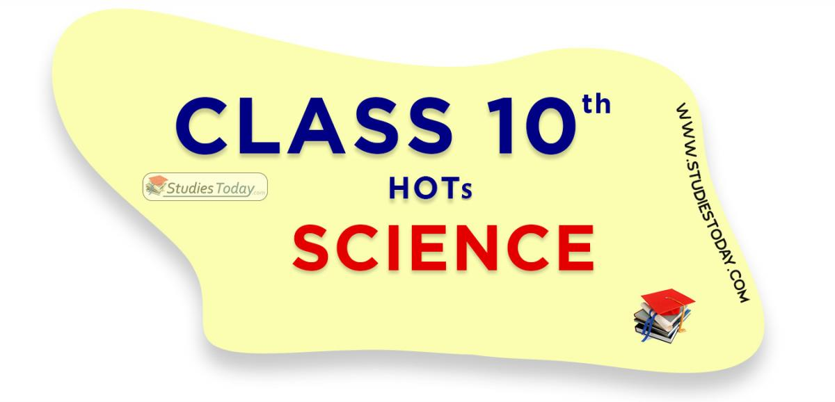 HOTs Questions Class 10 Science