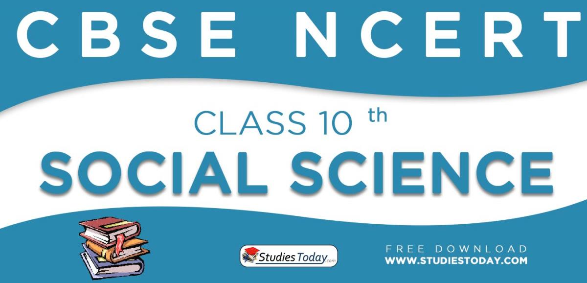 NCERT Book for Class 10 Social Science