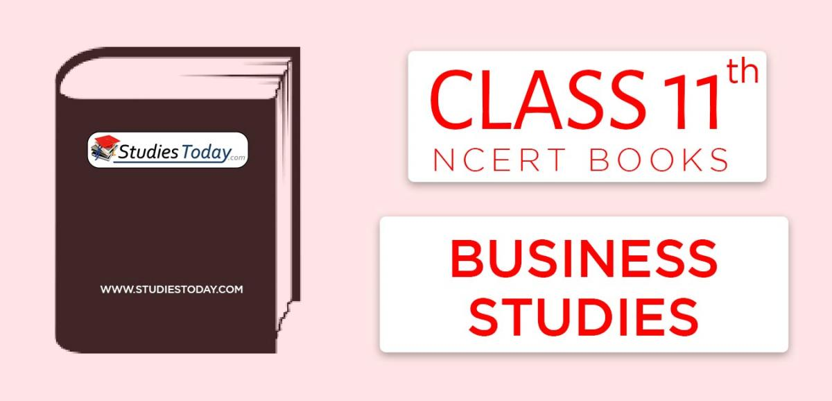 NCERT Books for Class 11 Business Studies