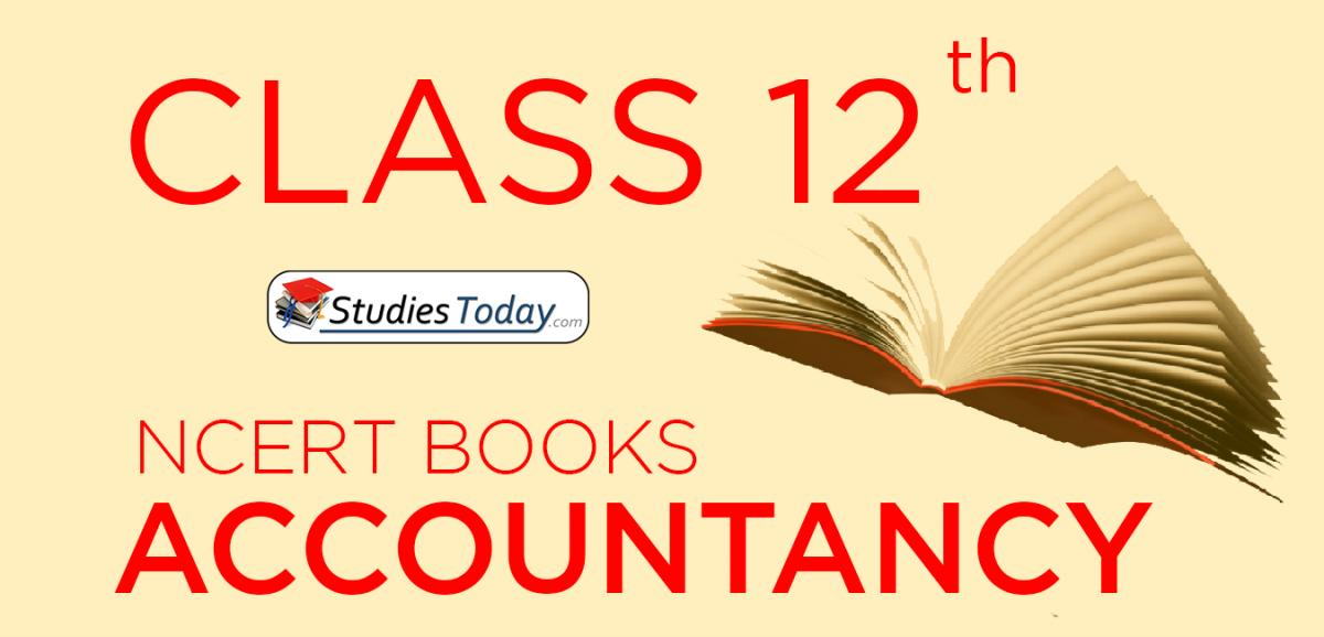 NCERT Books for Class 12 Accountancy