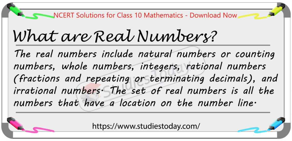 NCERT Solutions for Class 10 Real Numbers