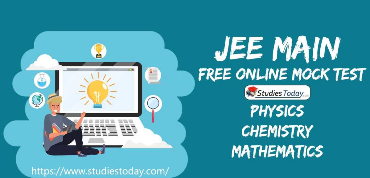 JEE Main Full Syllabus Online Mock Test