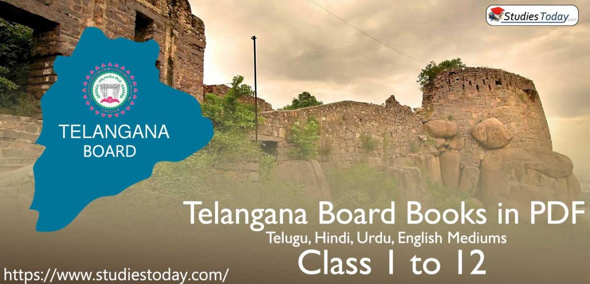 Telangana Board SCERT Books PDF Free for Telugu, Hindi, Urdu, English Mediums