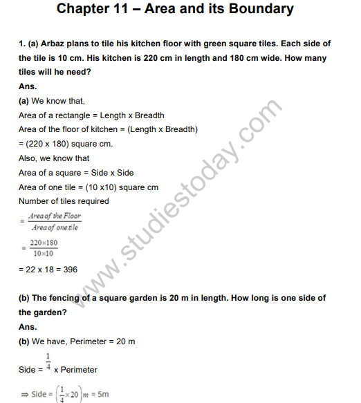Class_5_Mathematics_Area_and_its_Boundary