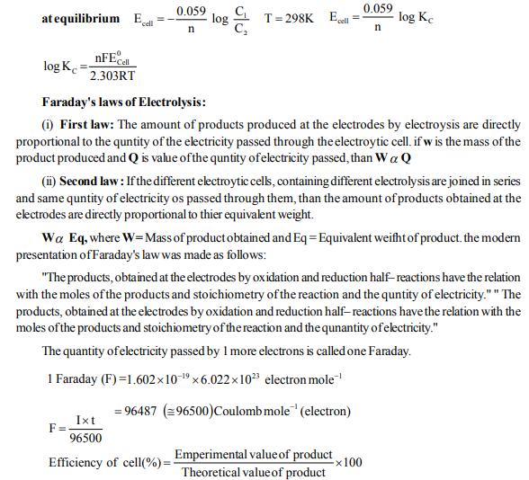 NEET UG Chemistry Redox Reactions and Electrochemistry