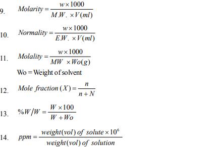 NEET UG Chemistry Some Basic Concepts, Multiple Choice