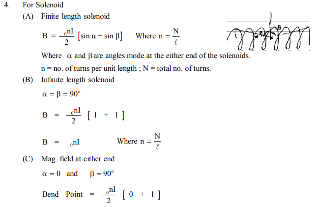 NEET UG Physics Magnetic Effects of Electric Current MCQs