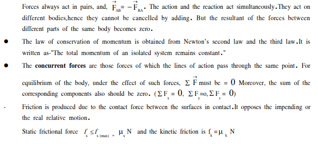 Neet Ug Physics Laws Of Motion Mcqs Multiple Choice Questions For