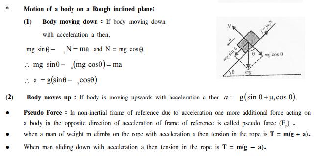 NEET UG Physics Laws of Motion MCQs, Multiple Choice