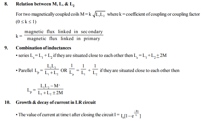 NEET UG Physics Electromagnetic Induction MCQs, Multiple