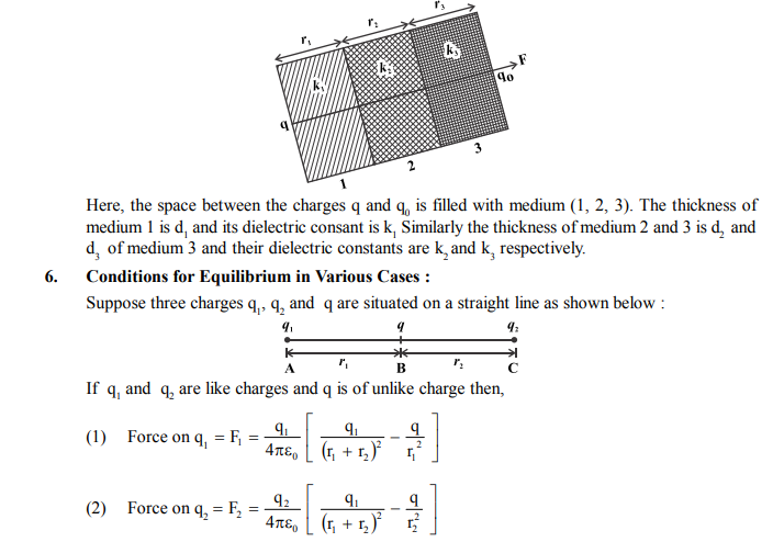 NEET UG Physics Electrostatics MCQs, Multiple Choice