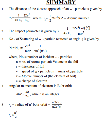 NEET UG Physics Atom and Nucleus MCQs, Multiple Choice