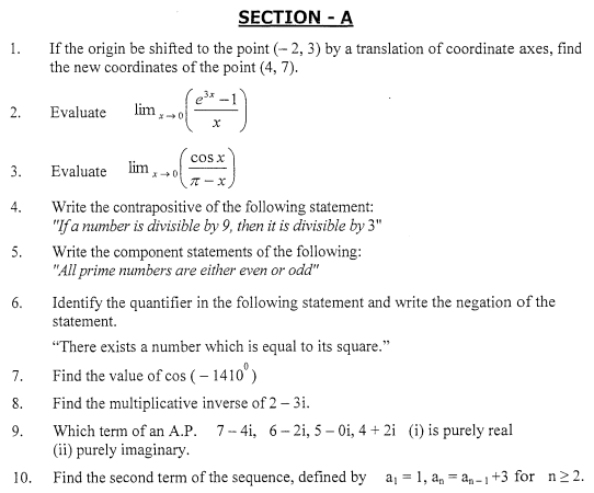 class_11_Mathematics_Question_%20Paper_4