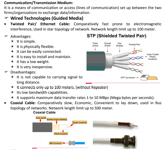 CBSE Class 12 Computer Science - Networking Concepts for