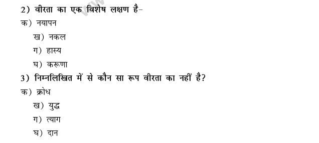 CBSE Class 9 Hindi Conventions MCQs-16