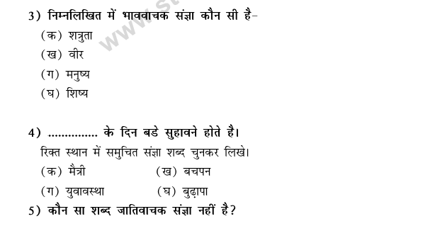 CBSE Class 9 Hindi Conventions MCQs-21