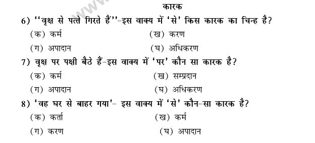 CBSE Class 9 Hindi Conventions MCQs-26