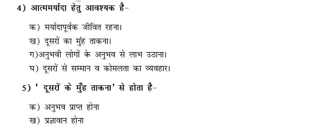 CBSE Class 9 Hindi Conventions MCQs-4