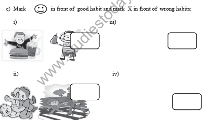 CBSE Class 3 Moral Science Sample Paper Set A