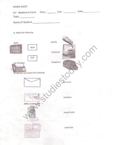 Cbse Class 2 Evs Practice Cleanliness Worksheet Practice Worksheet For Environmental Studies