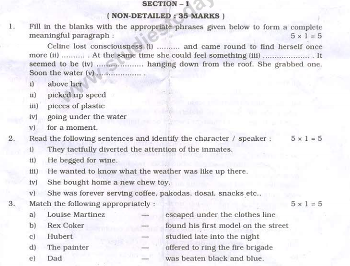 Class_10_English_Question_Paper