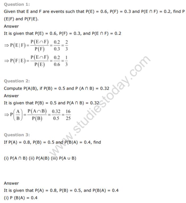 12th maths ncert solutions pdf