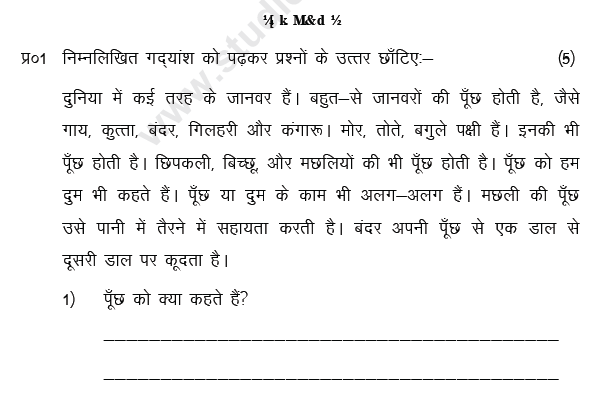 class_3_hindi_question_04