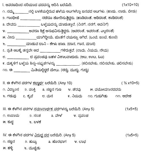 8th standard kannada text book pdf