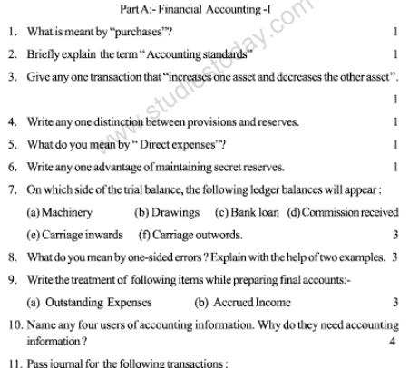 CBSE_Class_11_Accountancy_Sample_Paper_7