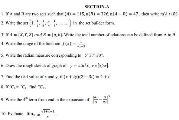 Class_11_Mathematics_Sample_Paper _21