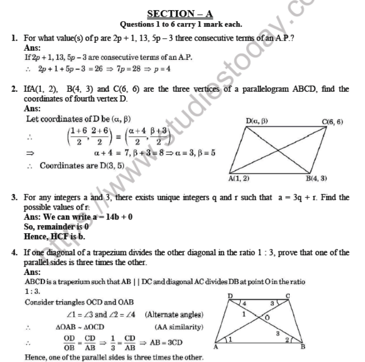 CBSE-Class-10-Mathematics-Sample-Papers-2020-Solved-Set-K