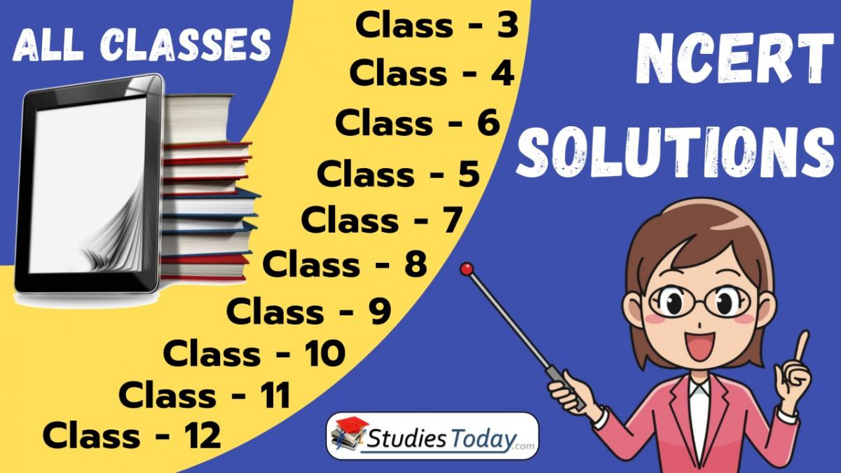 NCERT Solutions for all classes