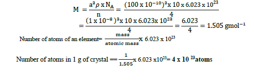 CBSE Class 12 Chemistry Solid State Important Questions and Answers Equation3