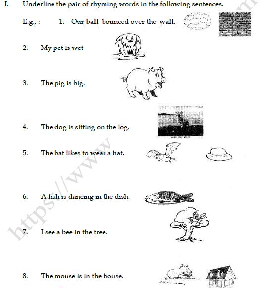 Cbse Class 3 English Practice Worksheet Dont Tell Set A
