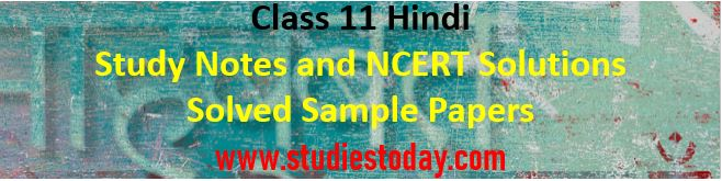 class_11_hindi_notes_ncert_solutions_books