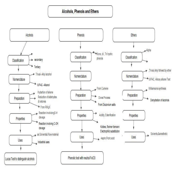 CBSE Class 12 Chemistry - Alchohols, Phenols and Ethers